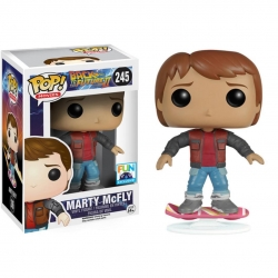 Marty Regreso Al Futuro Patin Figura Funko POP! Vinyl