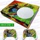 Vinilo Xbox One Slim bob marley reggae