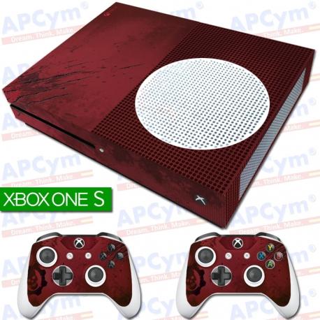Vinilo Xbox One Slim Gears of War 4 Edicion Coleccionista