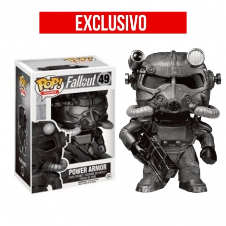 Fallout Power Armor Black Figura Funko POP! Vinyl