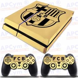 Vinilo PS4 Fat Oro Efecto Espejo fcb
