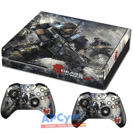 Vinilo Xbox One fat gears of war 4