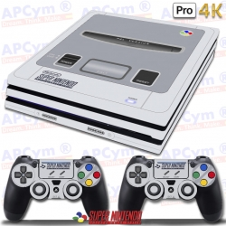 Vinilo PS4 PRO Retro Super Nintendo SNES