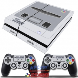Vinilo Playstation 4 Retro Super Nintendo SNES