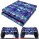 Vinilo Playstation 4 Fat Rombos de Colores