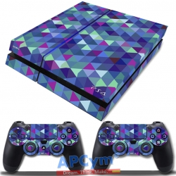Vinilo Playstation 4 Fat Rombos de Colores