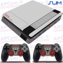 Vinilo PS4 Slim retro nintendo nes