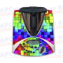 Vinilo Thermomix TM31 Cubos de Colores