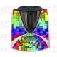 Vinilo Thermomix TM31 Botonera Cubos de Colores