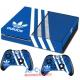 Vinilo Xbox One Fat Azul y Blanco