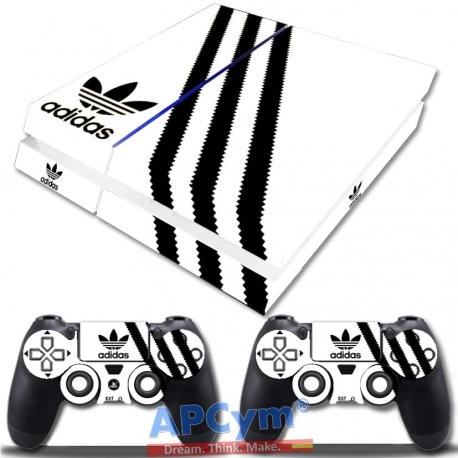 Vinilo Playstation 4 Fat Blanca y Negra
