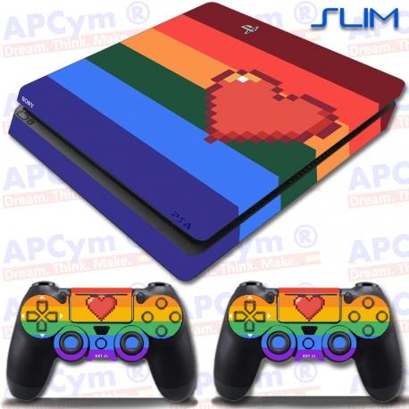 Vinilo PS4 Slim Gaystation