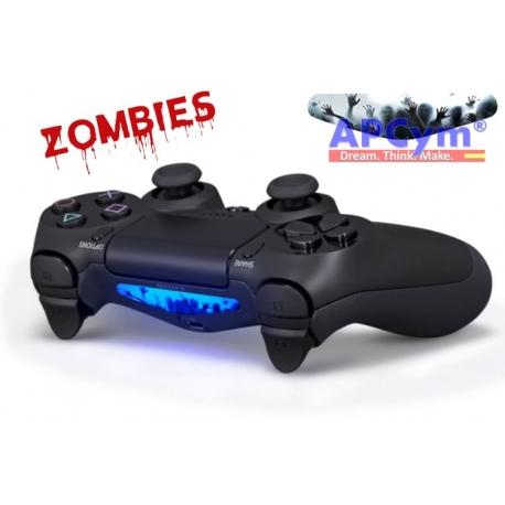 Vinilo para luz mando ps4 led zombies controller