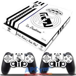 Vinilo Playstation 4 Fat Duodecima blanca