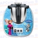 Vinilo Thermomix TM5 Frozen Princesas
