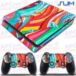 Vinilo PS4 Slim Bee Colors