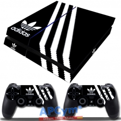 Vinilo Playstation 4 Fat Negra y Blanca