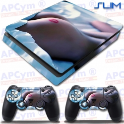 Vinilo PS4 Slim Beso culo cama