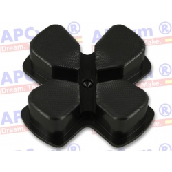 Dpad Cruceta Aluminio mando Ps4 negra negro