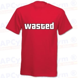 Camiseta GTA Wasted
