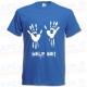 Camiseta Manos de zombie