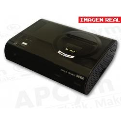 Carcasa Retro para Raspberry Pi 3 Mod. B Mega Drive