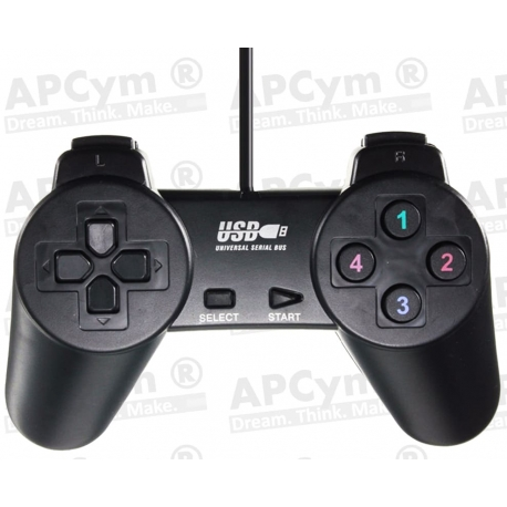 Gamepad PS3 USB Compatible Raspberry Pi 3