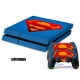 Vinilo Playstation 4 Modelo Superman