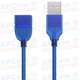 Cable 3 metros Hembra-Macho USB