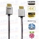Cable HDMI FULL HD 4K 3D Chapado Oro