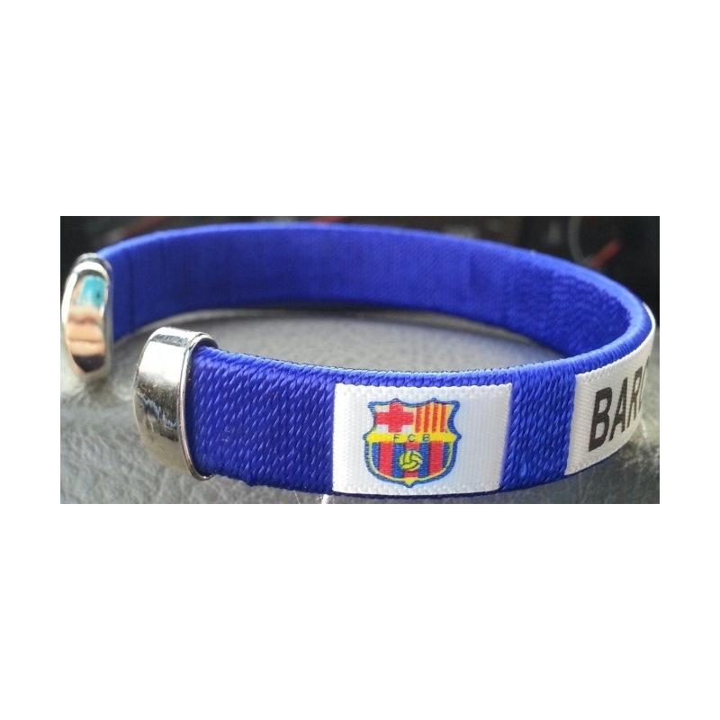 Pulsera F.C. Barcelona - APCym - Tienda de Vinilos para Consolas ... ca5b1d57d38