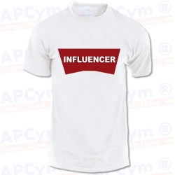 Camiseta Influencer - Redes Sociales