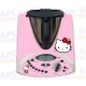 Vinilo Thermomix TM31 Panel Pink Cat