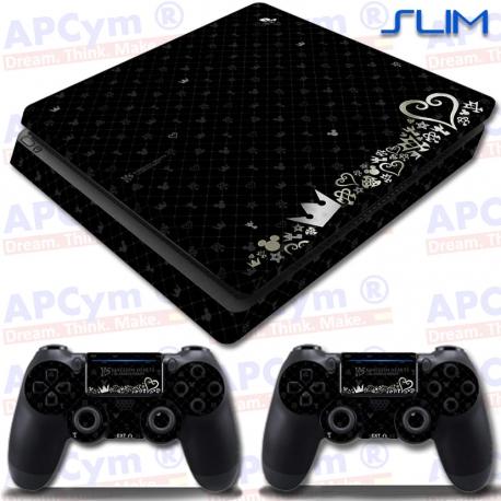 Vinilo PS4 Slim Kingdom Hearts Edicion 15 Aniversario
