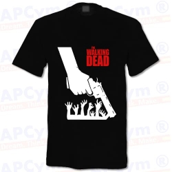 Camiseta Walking Dead Gun