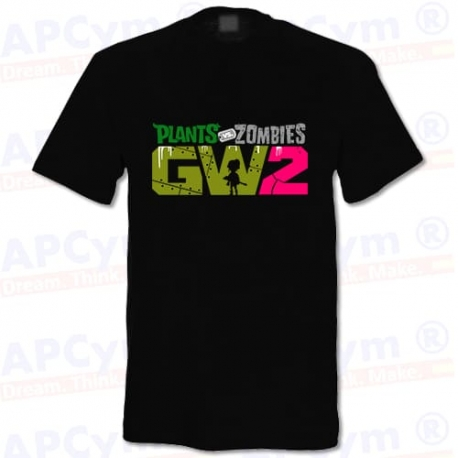 Camiseta Plantas VS Zombies 2