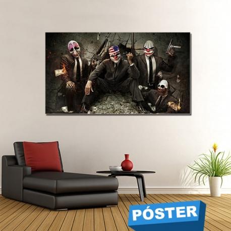 Poster Clawns con Protector en Brillo