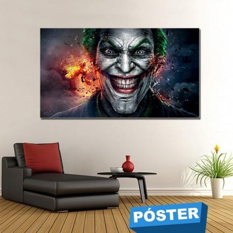 Poster Joker con Protector en Brillo