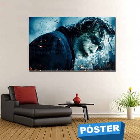 Poster Joker Film con Protector en Brillo