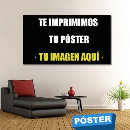 Personaliza tu Poster/Cartel con Protector en Brillo