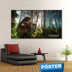 Poster Horizon con Protector en Brillo