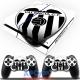 Vinilo Playstation 4 Valencia Blanca