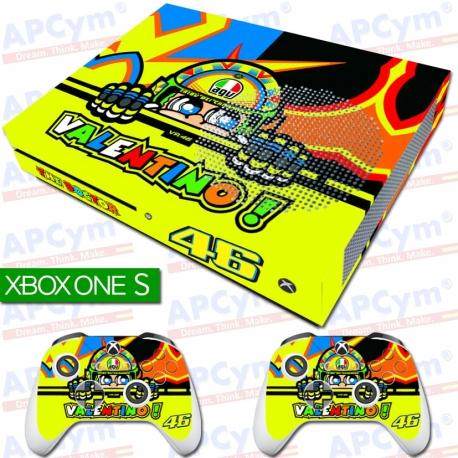 Vinilo Xbox One Slim Rossi con Rejilla