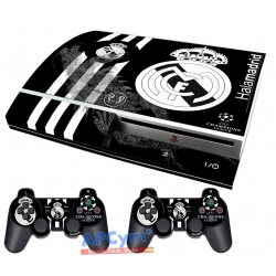 Vinilo Playstation 3 Fat Madrid Negra