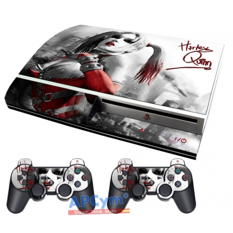 Vinilo Playstation 3 Fat Harley Queen
