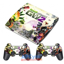 Vinilo PS3 Slim Plants VS Zombies