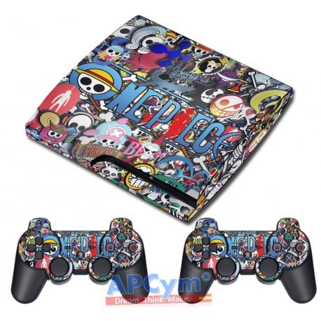 Vinilo PS3 Slim One Piece