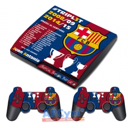 Vinilo PS3 Slim Triplete Barsa