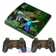 Vinilo PS3 Slim Minecraft