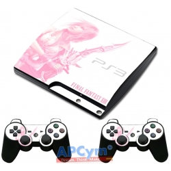 Vinilo PS3 Slim Final Fantasy XIII Collector Edition